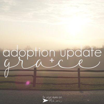 adoption update + grace