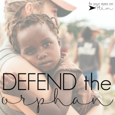 defend the orphan