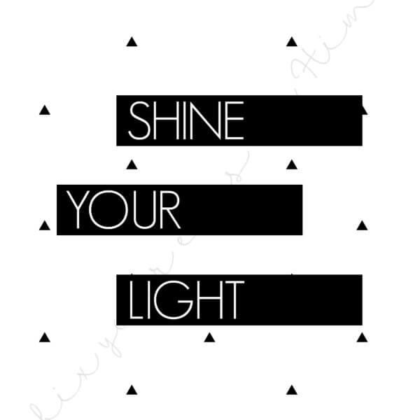 shine your light watermark