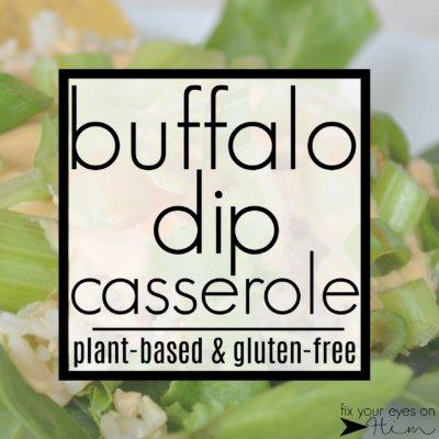 buffalo dip casserole