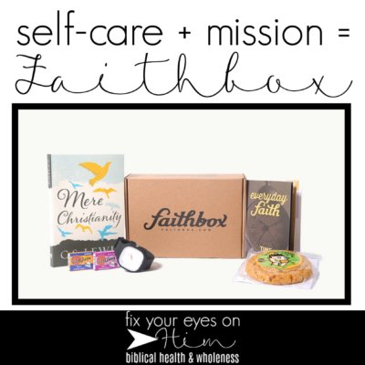 self-care + mission = Faithbox