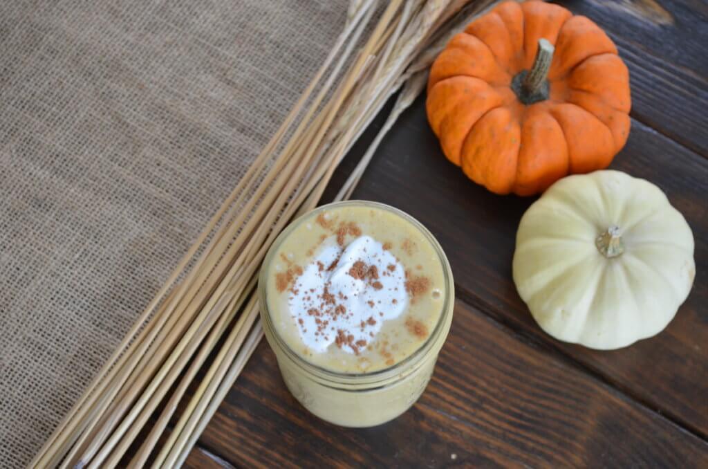 nourishing pumpkin pie smoothie   fixyoureyesonhim.com #pumpkin #pie #spice #smoothie #healthy #nourishing #plantbased #plant #based #dairy #free #clean #vegan #vegetarian