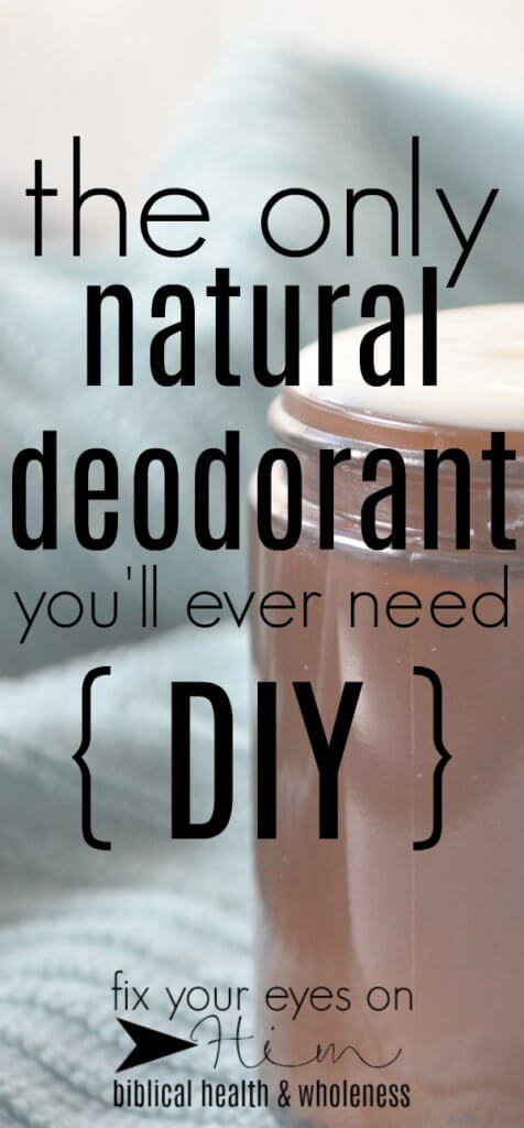 the only natural deodorant you'll ever need | fixyoureyesonhim.com #diy #natural #deodorant #nontoxic #homemade #bentonite #clay #healthy #safe #do #it #yourself #essential #oils