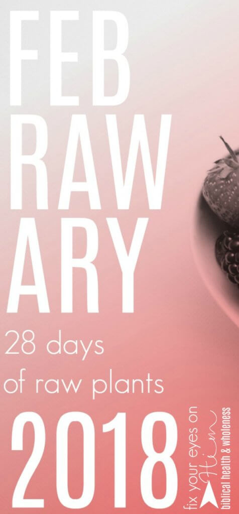 Feb-raw-ary | fixyoureyesonhim.com #febrawary #raw #food #diet #lifestyle #healthy #vegan #plant #based #plantbased #recipes